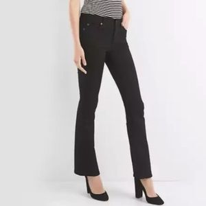Black Gap baby boot jeans